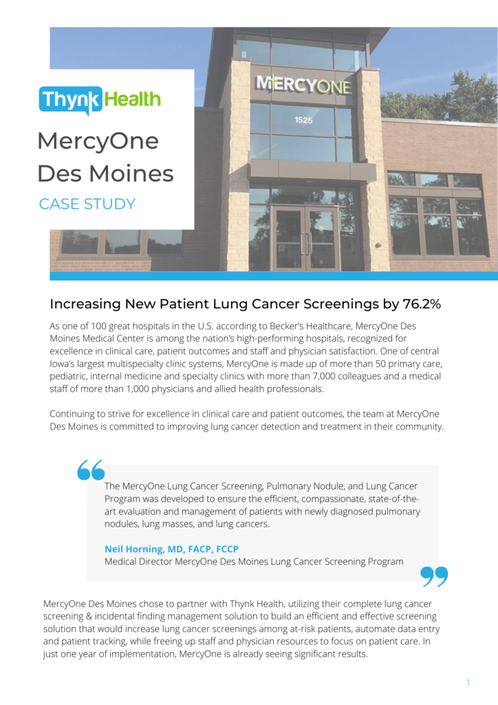 MercyOne Case Study